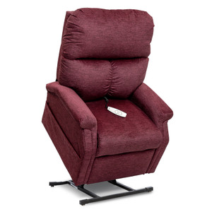 Pride LC-250 Power Chaise Recliner Lift Chair By Pride Mobility, Cloud 9 Black Cherry