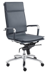 Gunar Pro High Back Office Chair Blue