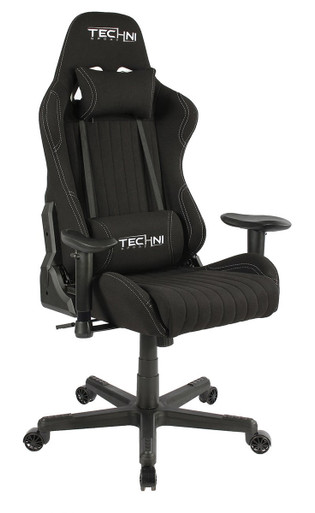 Techni Sport Echo Series Gaming Desk Chair TCF44 Black
