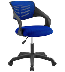 Thrive Small Swivel desk chair  in Blue