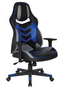 DESIGNlab Eliminator Gaming Chair By OSP Furniture, ELM25-BL
