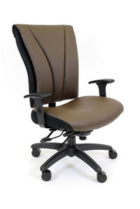 RFM Seating Sierra Heavy-Duty Big Seat & Tall Back Office Chair, Custom Options