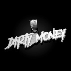 Polished Sterling Silver DIRTY MONEY Pendant