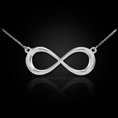 Sterling Silver Infinity Dainty Necklace