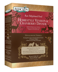Addiction Homestyle Venison & Cranberry Dinner