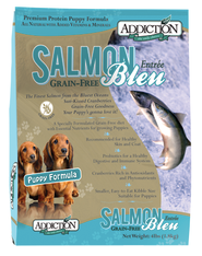 Addiction Salmon Bleu Puppy Kibbles (Grain-Free)