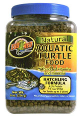 Zoo Med Natural Aq Turtle Food - Hatchling Formula