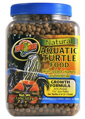 Zoo Med Natural Aq Turtle Food-Growth Formula