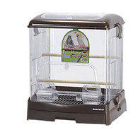 Sanko Wild Acrylic Bird Cage (Brown)