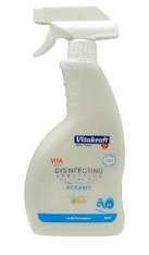 Non-Toxic Disinfectant Spray Plus: Oceanic Scent