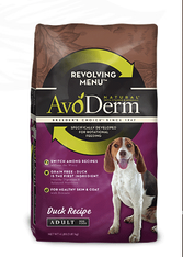 Avoderm Natural Revolving Menu Adult Duck Formula