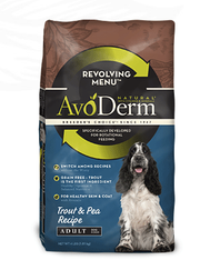 Avoderm Natural Revolving Menu Adult Trout Formula