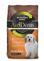 Avoderm Natural Revolving Menu Adult Turkey Formula