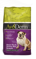 Avoderm Natural Canine Weight Control Formula
