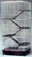 Maqnum Cat Cage w/ Platform 6 Tiers
