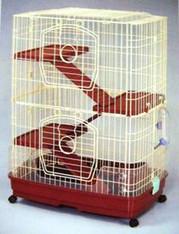 Maqnum Cat Cage w/ Platform 4 Tiers