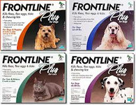 Frontline Plus Spot-On 3-Pack