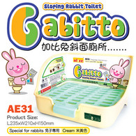 Alice Gabitto Sloping Rabbit Toilet