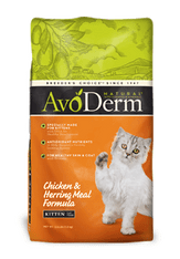 AvoDerm Natural Chicken & Herring Kitten Dry Formula