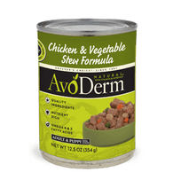 Avoderm Chicken & Vegetables Stew Canned