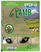 Addiction Le Lamb Dog Kibbles