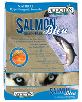 Addiction Salmon Bleu Dog Kibbles (Grain-Free)