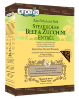 Addiction Steakhouse Beef and Zucchini Raw Dehydrated Dog Food (Grain Free)