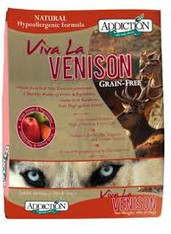 Addiction Viva La Venison Cat Kibbles (Grain-Free)