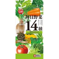 Marukan Daily Veggies 14 Maintenance for rabbit