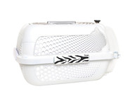Catit Voyageur Cat Carrier, White
