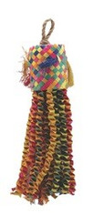 Living World Nature's Treasure Bird Toy Buri Piñata, For small and medium hookbills ``