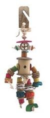 Living World Nature's Treasure Bird Toy Multi-Colored Puppet, For small & medium hookbills