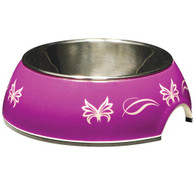 Catit Style 2-in-1 Cat Dish, Butterfly