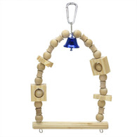 Bird Toy Swing w/ Bell M