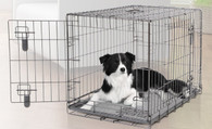 Dogit 2-Door Wire Home Crate w/ Divider