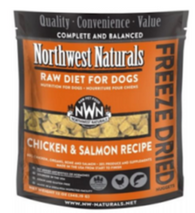 Northwest naturals- Chicken and Salmon recipe