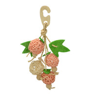 Natural Hanging Willow Ball Toy