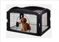 MARUKAN Dog Cage (New Soft Circle)