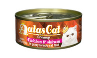 Aatas Cat Chicken & Shirasu in Gravy