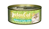 Aatas Cat Salmon & Baby Clam in Gravy