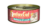 Aatas Cat Salmon & Crab in Gravy
