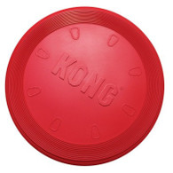 The KONG Flyer is the best soft rubber disc on the market. Made with durable KONG Classic rubber, the Flyer won't hurt a dogs teeth during fun games of fetch and catch.