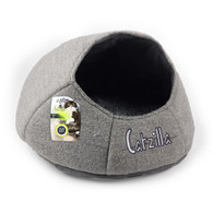 All For Paws Catzilla Nest Cat Bed Grey