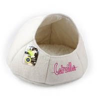 All For Paws Catzilla Nest Cat Bed Beige