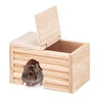 Marukan Natural Wood House for Djungarian Hamster