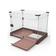 Marukan Easy Cleaning Dog Circle Brown Medium