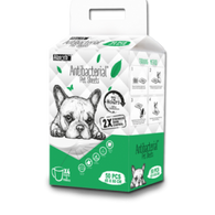 Absorb Plus Antibacterial Pet Sheets 45x60cm