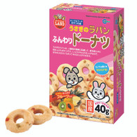 Rabbit Munchy Donut with Fruits