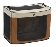 One Touch Cage Brown Medium