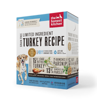 The Honest Kitchen - Dehydrated Limited Ingredient Turkey Recipe (Marvel)